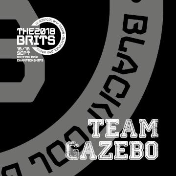 Team Gazebo 2018 BMX Brits (3X3)